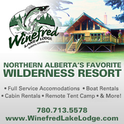 Winefred Lake Lodge - Northern Alberta's Favourite Wilderness Resort